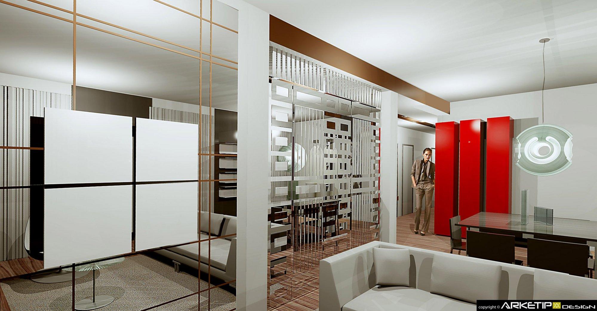 Progettazione arredamento appartamento torino for Torino arredamento