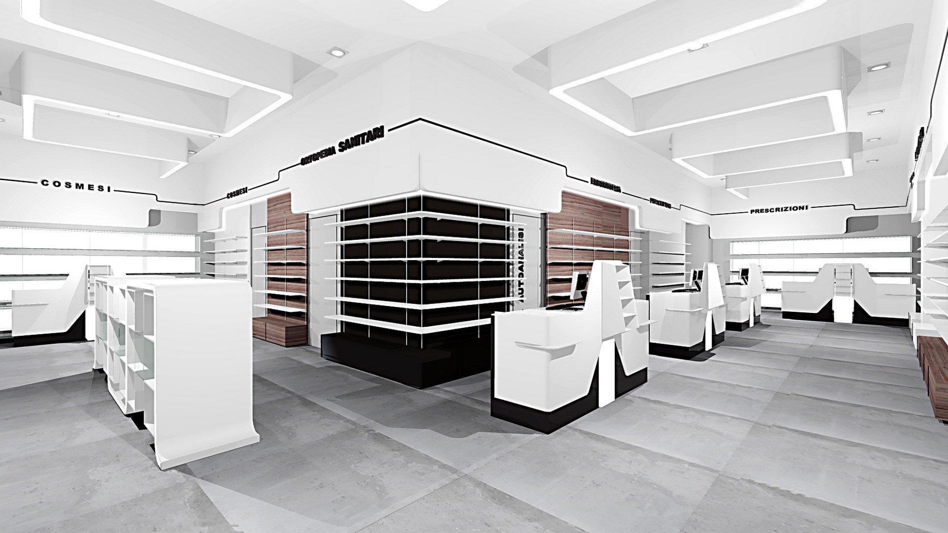 Farmacia borgo crocetta arketipo design