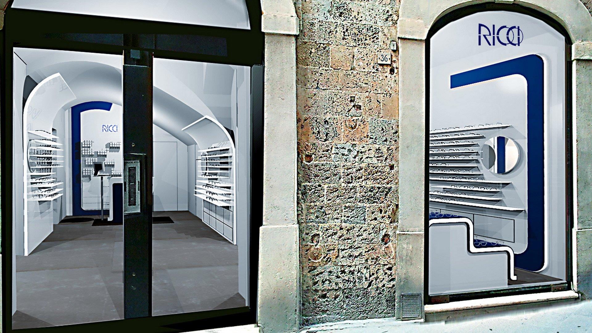 Ottica ricci arketipo design for Ricci arredamento