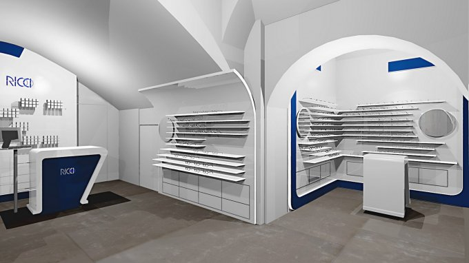 Ottica ricci arketipo design for Ricci arredamenti milano