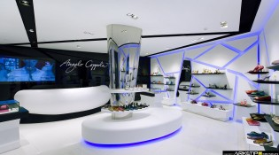 progettazione negozio Calzature ANGELO COPPOLA