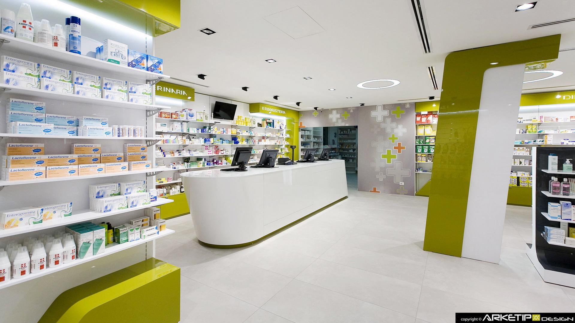 Arredamento farmacie milano arredamento personalizzato for Arredamento negozi milano