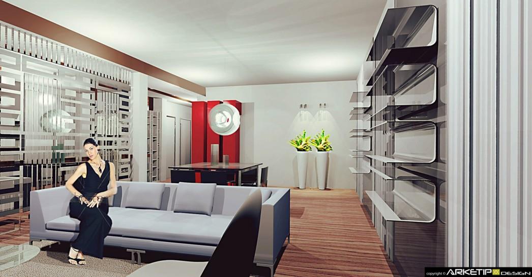 Arredamento abitazioni loft ville arredamento milano for Appartamento assago