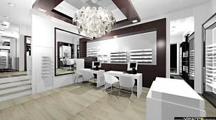 Ottica optikal arredamento negozio ottica rovigo for Sito arredamento design